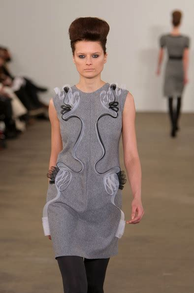 Runway Backstage At Behnaz Sarafpour by Behnaz Sarafpour Runway Fall 09 Mbfw Zimbio