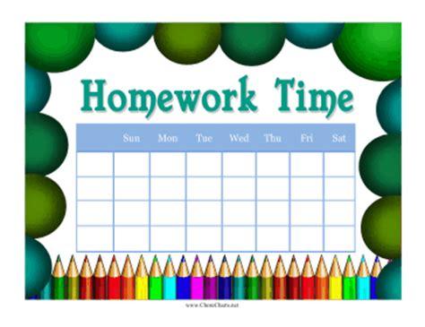 homework reward charts printable 9 best images of free printable homework charts track