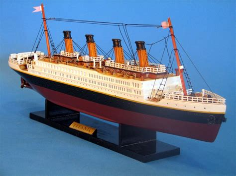 titanic boat cost buy rms titanic limited 20 inch model ship the titanic