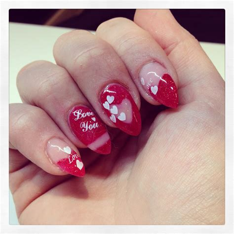 acrylic nails for valentines valentines acrylic nails ledufa
