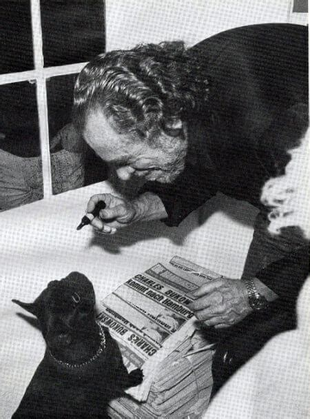 Charles And Ceits charles bukowski on his for cats and dogs