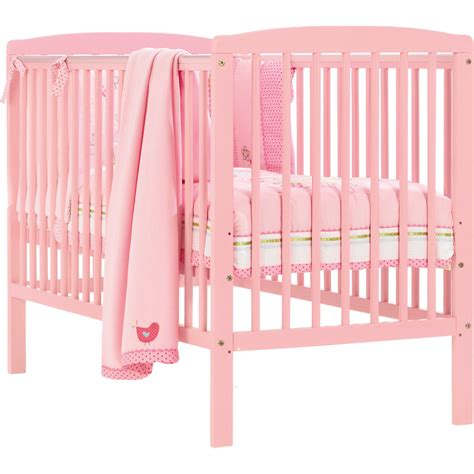 Crib Bed Rails Toddler Brighton Baby Nursery Cot Bed Toddler Crib With Teething Rails Baby Pink Ebay