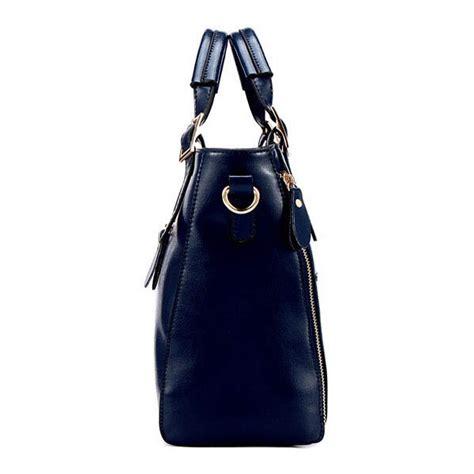 Leather Patchwork Handbag - genuine leather patchwork handbag gonchas
