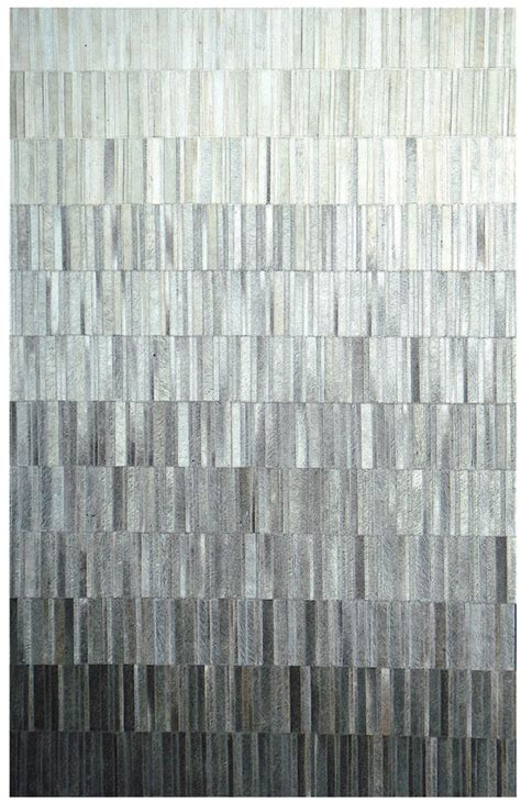 Grey Modern Rug Fade Grey Cowhide Rug From The Cowhide Rugs Collection At Modern Area Rugs