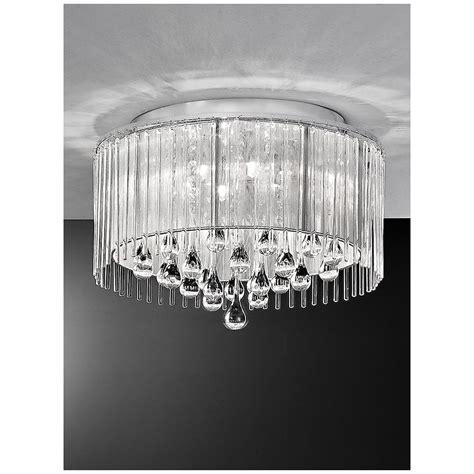crystal bathroom ceiling light franklite spirit lights spirit crystal ceiling light