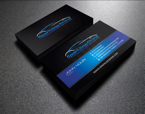 car business card templates free design some business cards for my car wash company