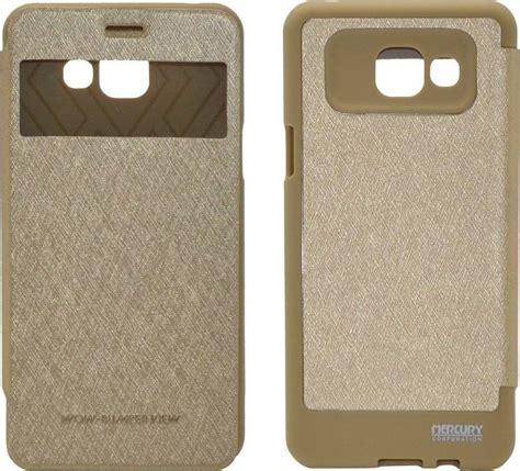 Mercury Goospery Wow Bumper Samsung Galaxy A5 Golden mercury book goospery wow bumper view για samsung sm a510f