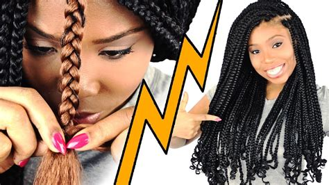 box braids  beginners step  step youtube