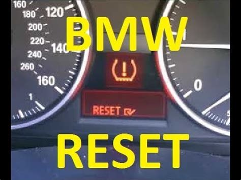 tire pressure warning light bmw tire pressure warning light reset