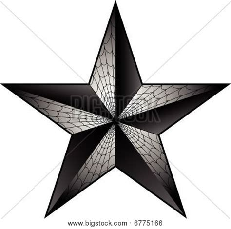 5 point star tattoo vector photo bigstock
