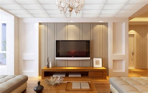 tv wall interior design decoration