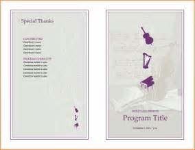 concert program template 6 program template teknoswitch