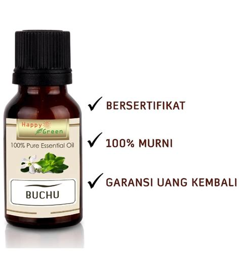 happy green buchu essential