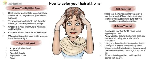 hair color at home how to dye your hair at home long hairstyles
