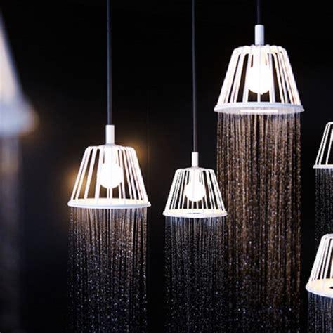 luce doccia water pioggia di luce e acqua per docce arredamente