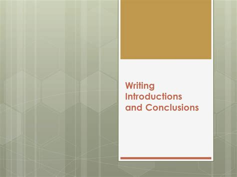 Writing Essay Introductions And Conclusions by Essay Conclusions And Introductions