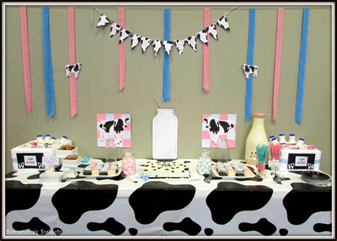 Cow Baby Shower by Moo Cow Baby Shower Got Milk Styling By