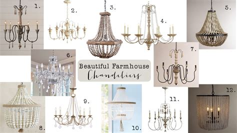house chandelier friday finds farmhouse chandeliers house of hargrove