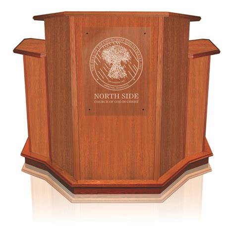 Pulpit Furniture by Wood Winged Pulpit