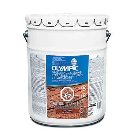 olympic waterproofing sealant clear