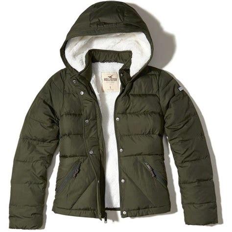Hollister Puff Jacket best 25 green jackets ideas on