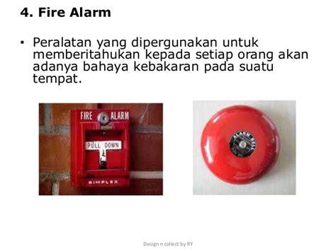 Alarm Pemadam Kebakaran drill latihan pemadam kebakaran