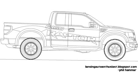 Ford Coloring Pages Ford Bronco Coloring Pages Kids Ford Coloring Pages