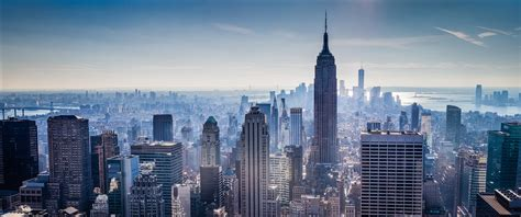 new york tower defense 3440 wallpaper new york city empire state building skyline
