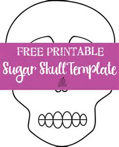 day of the dead skull mask template free day of the dead sugar skull template