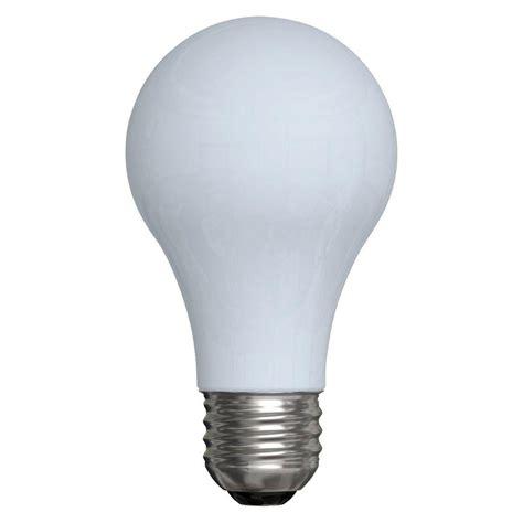 ge reveal 40 watt halogen equivalent a19 light bulb 4 pack 29aw rv h 4 12tp 120 the home depot