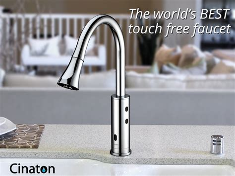 the world s best touch free faucet period cinaton
