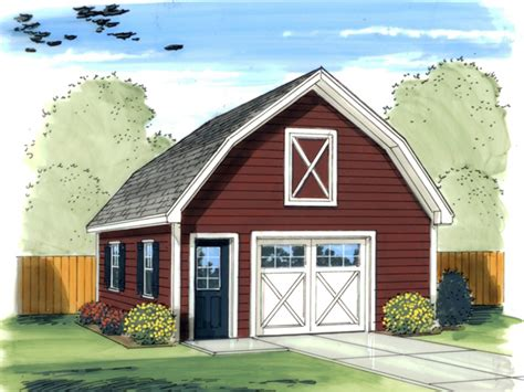 barn style garage plan 125d 6010 house plans and more