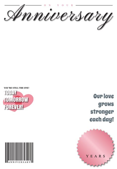anniversary medallion magazine happy anniversary card   island