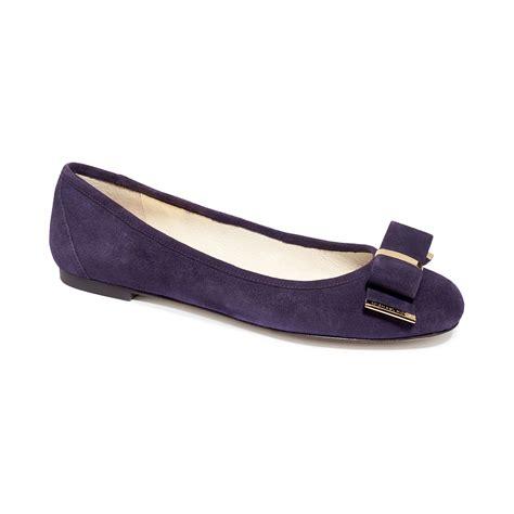 michael kors shoes flats michael kors michael kiera ballet flats in purple iris