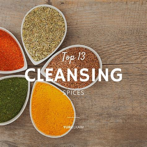 Spices Detox Liver by Top 13 Cleansing Spices To Add Into Your Diet Yuri Elkaim