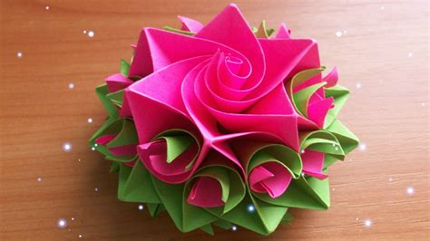 Flower With Craft Paper - craft paper flowers find craft ideas
