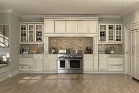 White Antiqued Kitchen Cabinets Antique White Kitchen Cabinets 2016