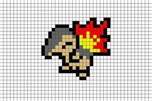 Make Own Pokemon Cards - pokemon cyndaquil pixel art brik