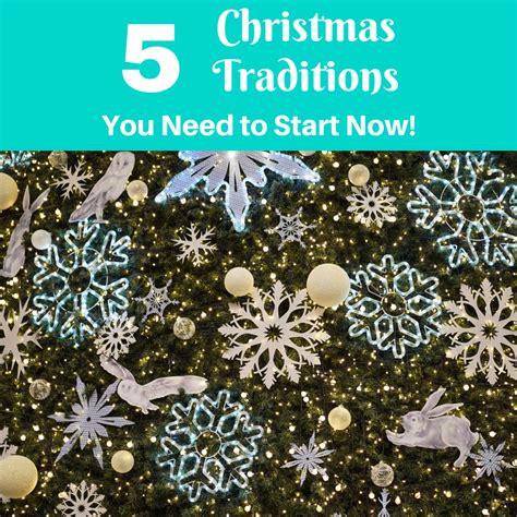 christmas is sorted now start on the sixth day of christmas 5 christmas traditions you