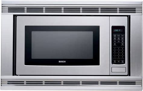 Built In Microwave bosch hmb405 2 1 cu ft built in microwave oven with