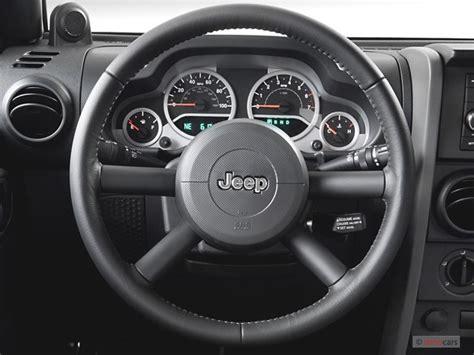 Jeep Steering Wheel Size 2007 Jeep Wrangler 2wd 4 Door Unlimited Steering Wheel