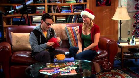 the big bang theory 2x11 penny s christmas gift to