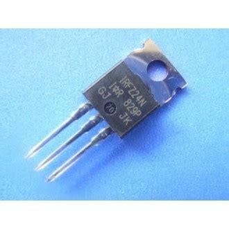 Transistor Irfz24n irfz24n transistor n channel power mosfet 55v 17a to