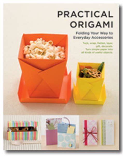 Useful Origami Things - practical origami vertical inc