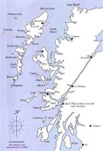 the hebrides map