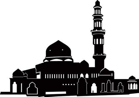 design masjid vector free download logo masjid vector clipart best