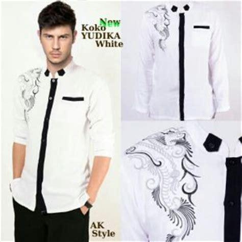 Koko Gamis Anak Murah Kombinasi V Keren Ganteng Abu Biru cardigan cowok murah gray cardigan sweater