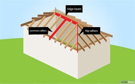 tetto a padiglione come costruire un tetto a padiglione 15 passaggi