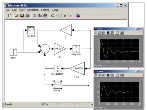 capacitor circuit simulink matlab solving rlc circuit