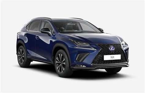 blue lexus nx lexus nx 300h restyl 233 2018 couleurs colors